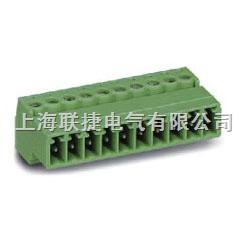 LC10-3.81 PCB插拔式接线端子(插头) PCB线路板端子  上海联捷电气   接线端子