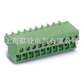 LC3-3.81 PCB插拔式接线端子(插头) PCB线路板端子  上海联捷电气   接线端子