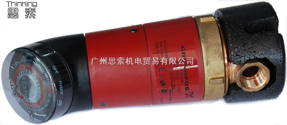 格兰富循环泵免维护低噪音自动性能调节安装简便