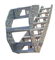 加强型TLG钢制拖链生产 封闭重型油管拖链