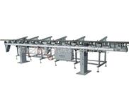 【黎杰机械】重型滚轮式送料机无心磨床送料机推板式送料机