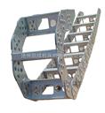 钢铝拖链生产厂,钢铝拖链,桥式钢铝拖链,全封闭钢铝拖链