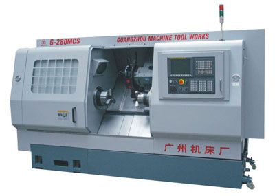 G-280MCS双主轴车削中心