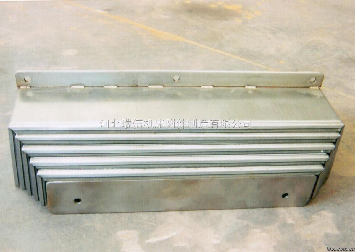 我要买机床钢板防尘罩/不锈钢挡板新/钢板,不锈钢防护罩新河北瑞信机床附件制造有限公司