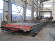 重型龙门刨铣床机身导轨中心距1500