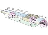 标准形状横梁伸缩式钢板护罩