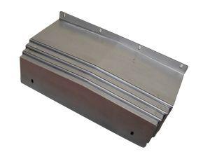 钢板伸缩式导轨防护罩