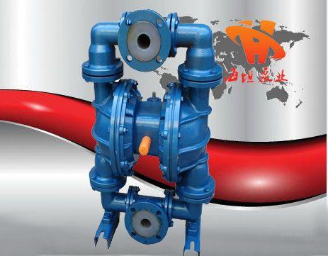 隔膜泵原理|隔膜泵概述|QBYF系列衬氟气动隔膜泵