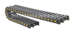 超长行程单向桥式组装塑料拖链