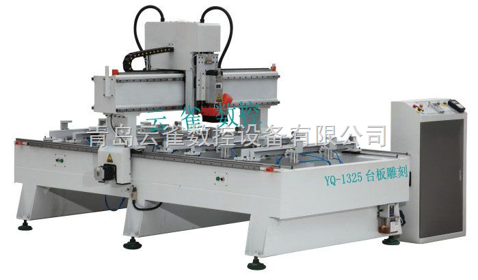 青岛工业缝纫机(绣花机)台板雕刻机