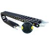 TLS46、TLF46系列新加强型工程塑料拖链(金属接头)